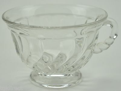 """Vintage Fostoria Glass Footed Cup Colony Pattern 2.25"""" Tall Collectible Crystal"""