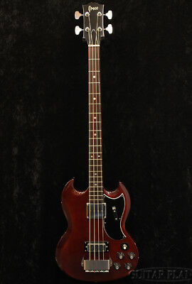 Greco EB-420 Cherry Bass Guitar Vintage Rare Excellent condition Used from japan