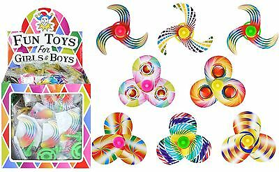 1-48 Spinning Top Kids Boys Girls Party Loot Goody Pinata Bag Filler Toy