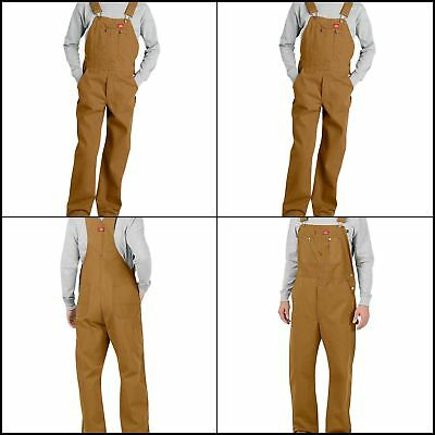 Dickies Men's Premium Bib Overall Super-Reinforced Back Pockets Free Shipping
