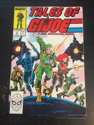 Tales Of Gi-joe#4 Incredible Condition 9.4(1988) Wow!!