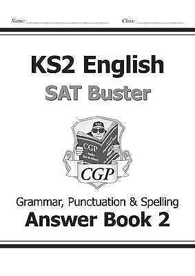 CGP KS2 English SAT Buster Book 2 Answers For Grammar, Punctuation & Spelling