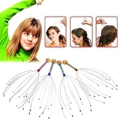 Head Scalp Neck Hand Massage Stress Pain Relief Headache Relax Gadget