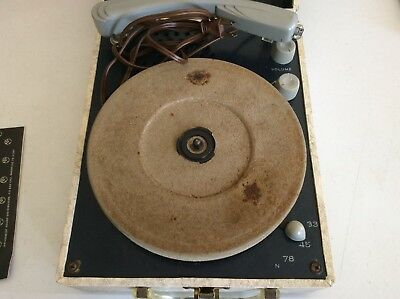 Vintage Webcor Turntable Record Player Model BP 1612-1