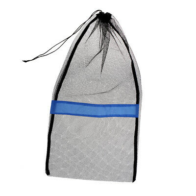"Mesh Drawstring Bag for Scuba Diving Swim Gear Fins Mask Snorkel 25""x13"""