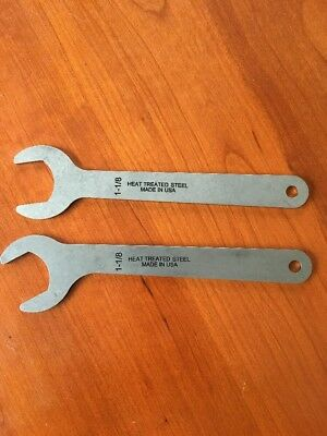 Porter Cable Router Wrenches. Two wrenches.1pc Regular and 1pc 30 Degree. 1-1/8""