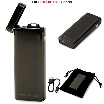 Atomic USB Lighter Flameless Windproof Rechargeable Electric Single Arc Lighter
