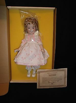 """1983 Shirley Temple American Sweetheart 16"""" Limited Edition Porcelain Doll New"""
