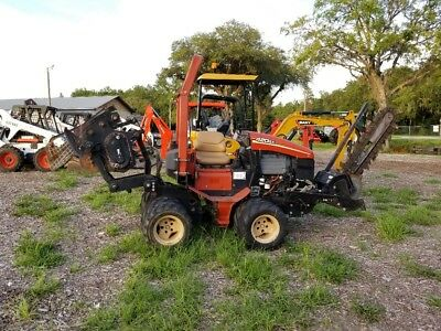 Ditch Witch 420Sx Ride On 4X4 Trencher, Vibratory Plow, Hydra Bore Unit!