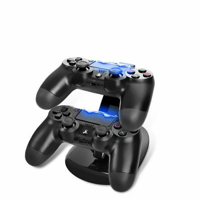 PS4  Dual controller  Charger Wireless Controller Dock USB Charging Cable Stand