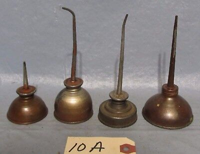 VINTAGE THUMB OILERS UNBRANDED LOT OF 4 GARAGE DECOR MAN CAVE used