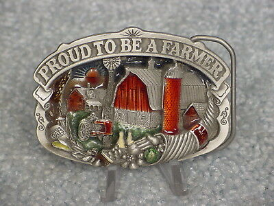 Ih Proud To Be A Farmer Le Belt Buckle