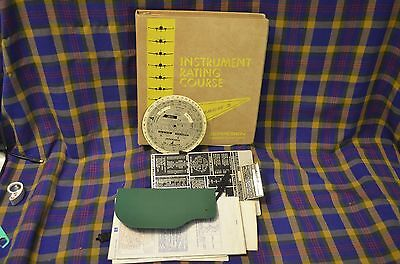 1978 JEPPESEN Instrument Rating Course Manual CR-1 Computer Westfield Airmotive
