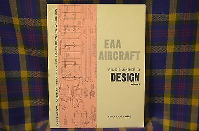 """Vintage 1966 Aircraft """"DESIGN"""" EAA Aircraft Volume Two File Number Three"""