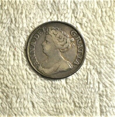 England, 1711, 1 Silver Shilling, Queen Anne
