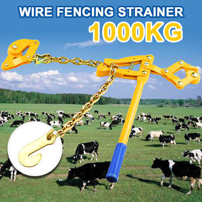 Heavy Duty Wire Fencer Strainer Plain&Barbed Chain Fencing Repair Gripple Tool