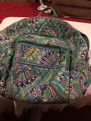Vera Bradley Large Campus Backpack And Lunchbox