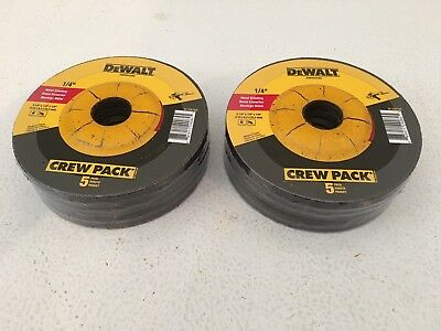 "10 Pieces Dewalt 4-1/2"" x 1/4"" x 7/8"" Metal Grinding Wheels-DW4541-Free Shipping"