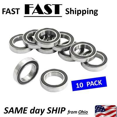 6802-2RS -- 15 x 24 x 5mm Metal Shielded Sealed Deep Groove Small Ball Bearings