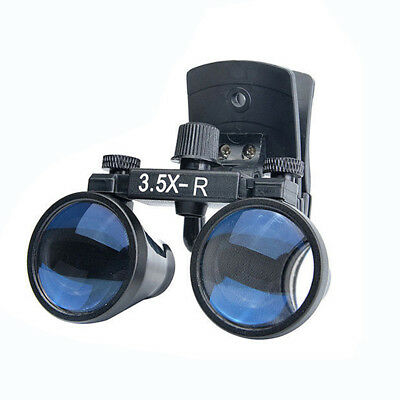 3.5X Dental Surgical Glasses Loupe Magnifier Clip on Style DY-110 280mm-380mm