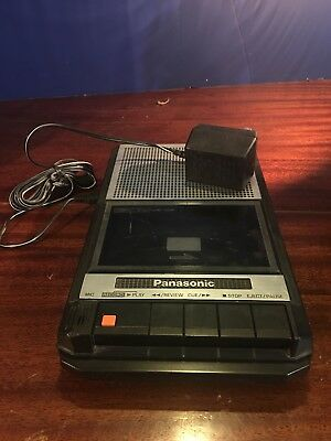 Vintage Panasonic (RQ-2709D) Cassette Player Tape Recorder With Handle Japan