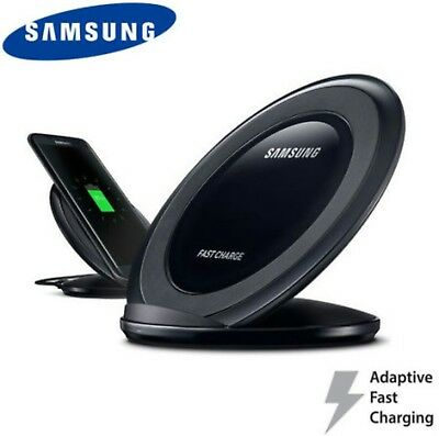 Genuine Samsung Wireless Qi Fast Charging Pad & Stand for Galaxy 7 S8 & S8 Plus