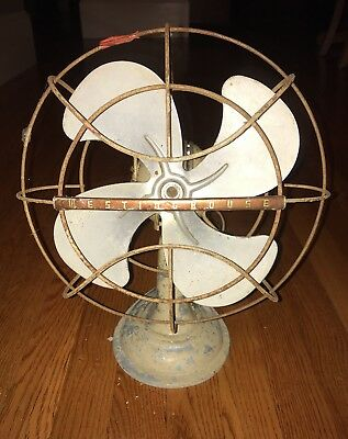 Westinghouse Electric Cat No. 12 LA 3 Y-4692 Oscillating Fan Made In USA