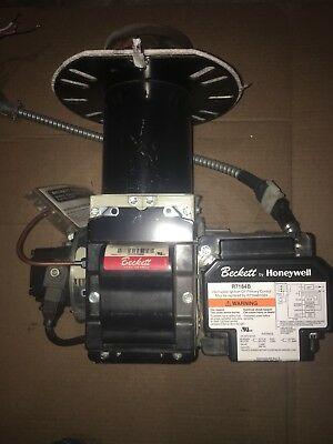 Beckett Oil Burner Unit Model Afgserial  # 100510-44555