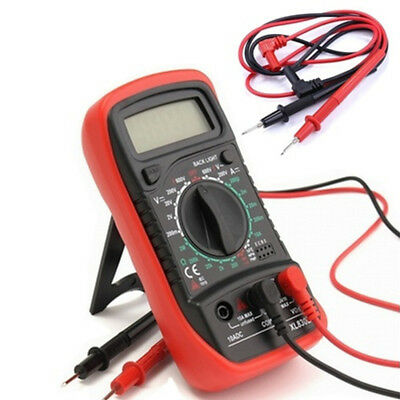 Universal Digital Multimeter Meter Test Lead Probe Wire Pen Cable Silicone