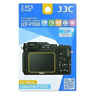 JJC Guard Film displayschutzfolie passgenau fr Nikon Coolpix P7800 - Anti-Kra...