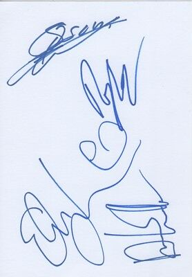 Blues Pills Autogramme full signed 15x21 cm Karteikarte