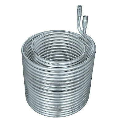 """HFS SS 304 Condensing Coil - 3/8"""" diameter with 3/8"""" NPT"""