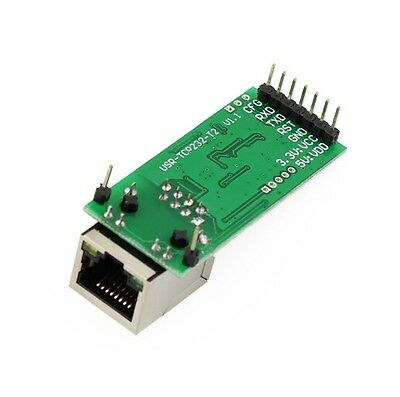 New USRIOT USR-TCP232-T2 Tiny Serial Ethernet Converter Module