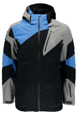 Spyder Leader Jacket Herren Skijacke black polar french blue