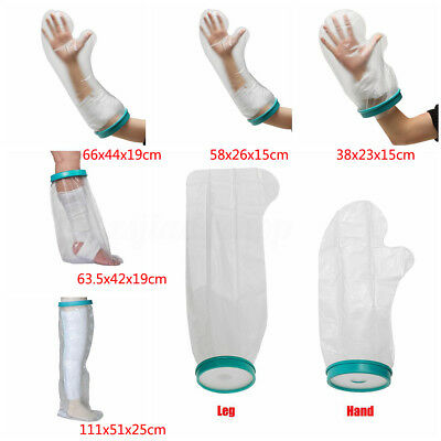 Reusable Waterproof Seal Adult Cast Bandage Hand Leg Arm Protector Cover Bathing