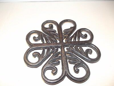 Metropolitan Museum of Art Reproduction Cast Iron Trivet Virginia Metal Crafters