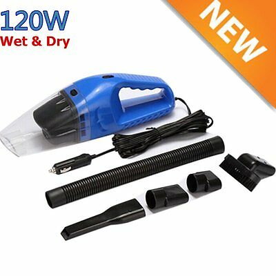 Portable Super 12V 120W Vehicle Car Handheld Vacuum Dirt Cleaner Wet & Dry OY