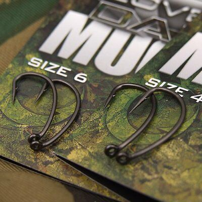 New Gardner Tackle Covert Dark Mugga Hooks - All Sizes Micro Barb - Carp Fishing