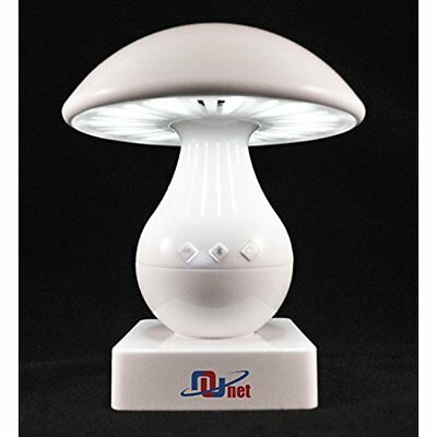 Nunet Mushroom Nursery Portable Light LED Touch Controlled Dimmable Lamp With