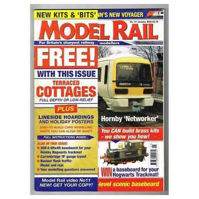 Model Rail Magazine January 2003 Mbox2901/A  Hornby 'Networker'