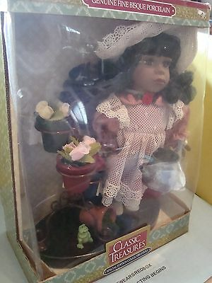 Classic Treasure Special Edition Collectible Doll Genuine Fine Bisque Porcelain