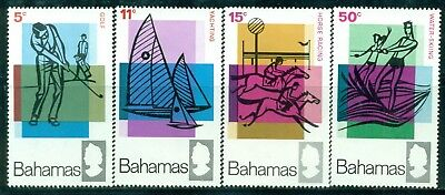 BAHAMAS 272-75 SG315-18 MH 1968 Tourist Publicity set of 4 Cat$10