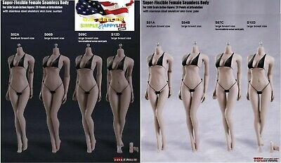 TBLeague 1/6 Steel Skeleton FEMALE Seamless Figure Body ❶U.S. A. SELLER❶