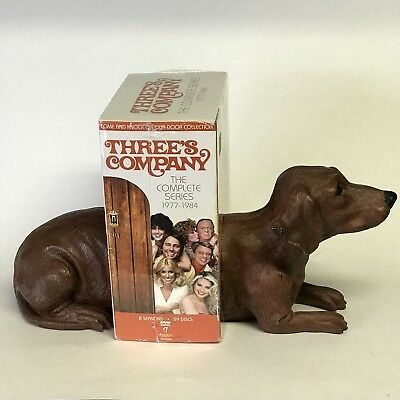 Dachshund Dog Bookends Weiner Dog Brown Doxie