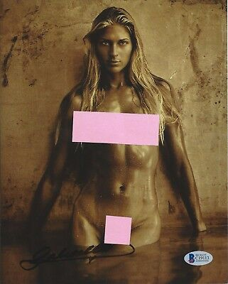 Gabrielle Reece Signed 8X10 Photo Autographed Beckett BAS COA Volleyball Model
