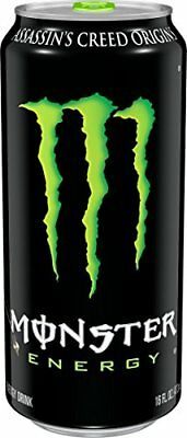 Monster Energy Drink 16-Ounce Cans Pack of 24 - Free Shipping