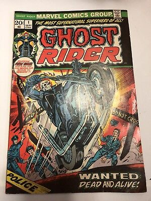 Ghost Rider #1 (Sep 1973, Marvel) FREE SHIPPING