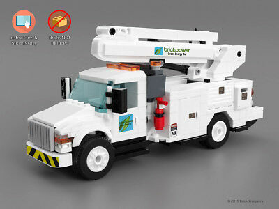 Custom Stickers Instructions To Build A Lego Utility Truck No
