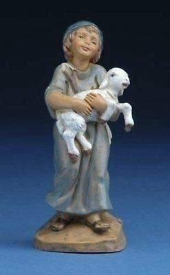 "Fontanini 5"" Silas Holding Sheep Christmas Nativity Figurine #57521"
