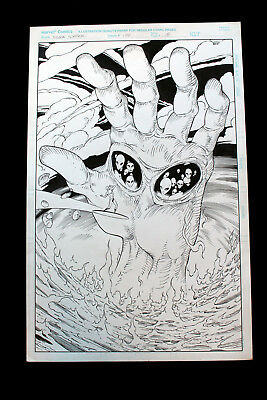 Silver Surfer #134 Page 18 Comic Art Tom Grummet Pencils, Matt Ryan Inks